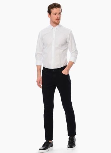Slim Fit Uzun Kollu Gömlek-Network